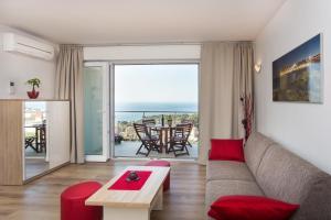 Zona de estar de Apartments Villa Ankora