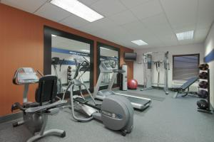 The fitness center and/or fitness facilities at Hampton Inn Decatur/Forsyth