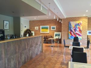 The lobby or reception area at Bright on Track