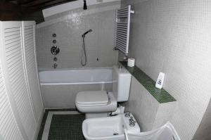 A bathroom at Residenza D'Epoca San Jacopo