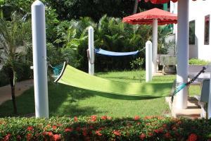 Ein Kinderspielbereich in der Unterkunft Top Resort