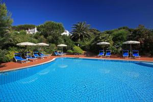 The swimming pool at or near Hotel Antares