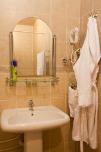 Ванная комната в Гостиница Кристалл