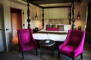 A seating area at The Birchwood