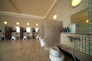 A bathroom at Hotel Aile