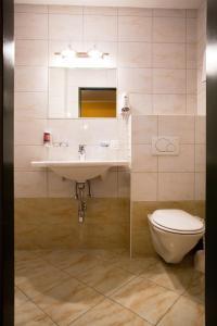 Ein Badezimmer in der Unterkunft Cityhotel Schwarzer Bär Innsbruck