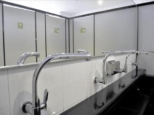 Ein Badezimmer in der Unterkunft K2 Guesthouse Central