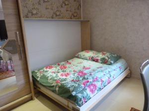 Кровать или кровати в номере Gostevoy Domik