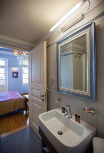 A bathroom at Aetoma Hotel