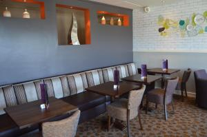 A restaurant or other place to eat at Premier Inn Dublin Airport