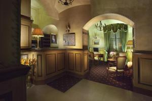 Hall o reception di Hotel Pod Věží