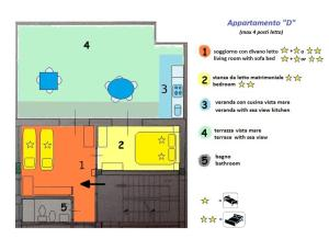 Planimetria di Pozzo Lazzaro Apartments