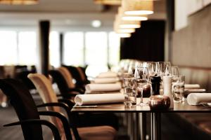 En restaurant eller et andet spisested på Comwell Korsør