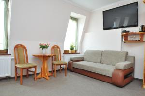 Część wypoczynkowa w obiekcie Aparthotel Mikołajki