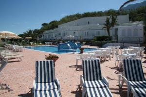 The swimming pool at or close to Hotel Albatros