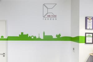 The floor plan of Mk Hotel London