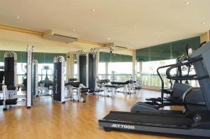 The fitness center and/or fitness facilities at Mangosteen Ayurveda & Wellness Resort - SHA Plus