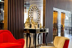A seating area at BessaHotel Liberdade