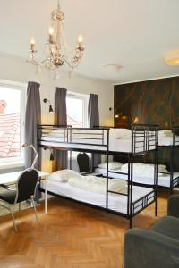 A bunk bed or bunk beds in a room at City Hostel Bergen