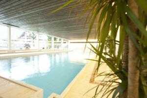 Бассейн в Sporthotel Wildstrubel или поблизости