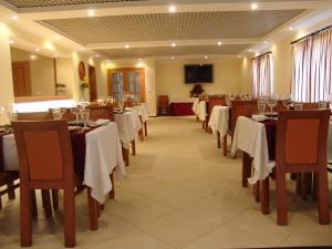 Um restaurante ou outro lugar para comer em Quinta de Malmedra