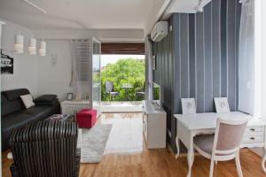 Zona de estar de Apartment Macho