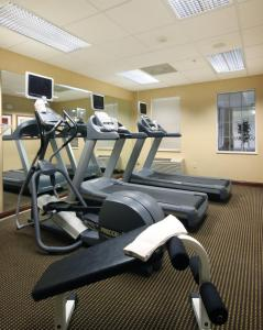 The fitness center and/or fitness facilities at Residence Inn by Marriott Oklahoma City South