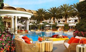 A piscina localizada em Encore at Wynn Las Vegas ou nos arredores