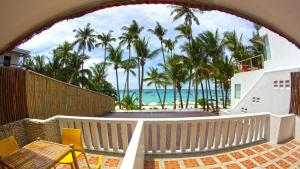 A balcony or terrace at The Rose Pike at Boracay