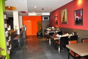 מסעדה או מקום אחר לאכול בו ב-Wellness Apart Hotel