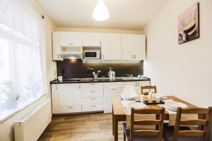 Küche/Küchenzeile in der Unterkunft Accommodation Smečky 14
