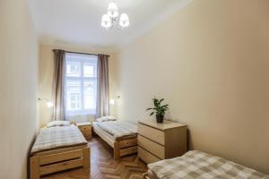 Ein Bett oder Betten in einem Zimmer der Unterkunft Accommodation Smečky 14