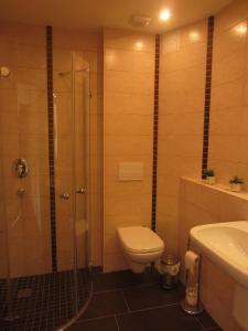 Ein Badezimmer in der Unterkunft Ferienwohnung Im Wiesenthal