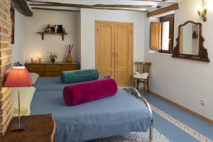 Cama o camas de una habitación en Hotel Rural Villa Liquidámbar