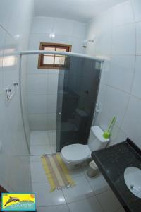 A bathroom at Residencial Maragogi