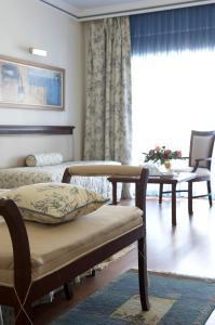 Χώρος καθιστικού στο Atrium Palace Thalasso Spa Resort And Villas