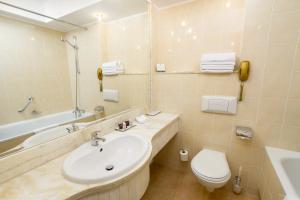 Łazienka w obiekcie Hotel Mazurkas