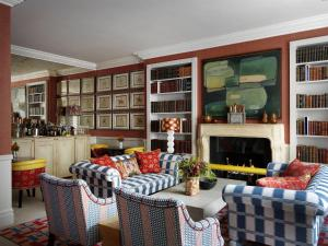 A seating area at Knightsbridge Hotel, Firmdale Hotels