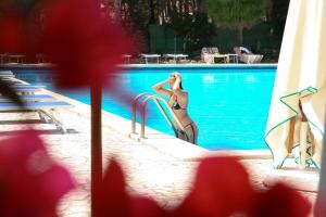 The swimming pool at or near Abamar Hotel