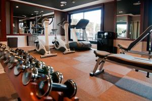 The fitness center and/or fitness facilities at U232 Hotel