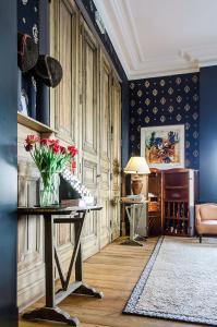 Zona de estar de Hotel Le Tissu