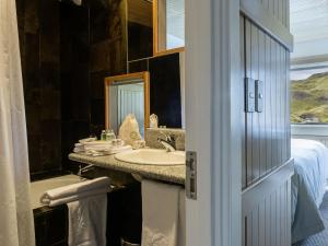 Un baño de Explora en Torres del Paine - All Inclusive