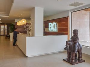 The lobby or reception area at BQ Can Picafort Hotel