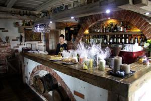 The lounge or bar area at Zaku Krogs