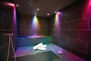 A bathroom at Hotel Fliana Ischgl