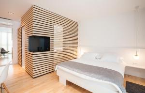 Krevet ili kreveti u jedinici u objektu Unique Luxury Rooms