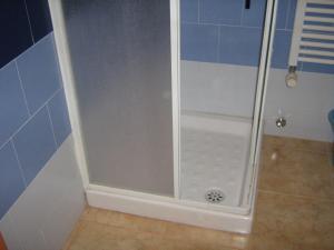 Salle de bains dans l'établissement Flat in Milan 3
