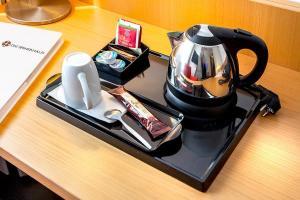 Coffee and tea-making facilities at Hotel Spenerhaus