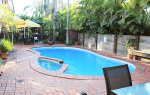 The swimming pool at or near Best Western Ipswich
