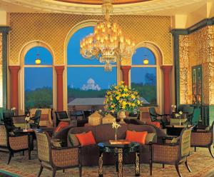 A restaurant or other place to eat at The Oberoi Amarvilas Agra